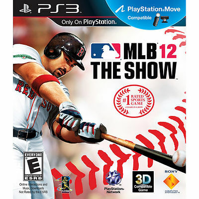 MLB 12: The Show (Sony PlayStation 3, 2012)