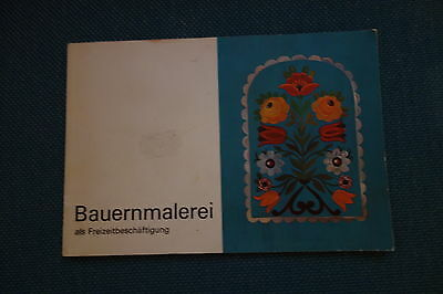 Bauernmalerei Buch  Muster