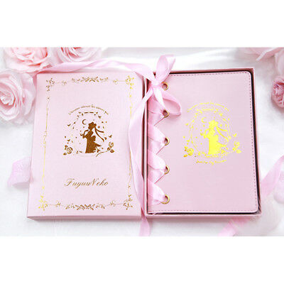 Sailor Moon Crystal Princess Serenity Pink Strap Journal Planner Techo Notebook