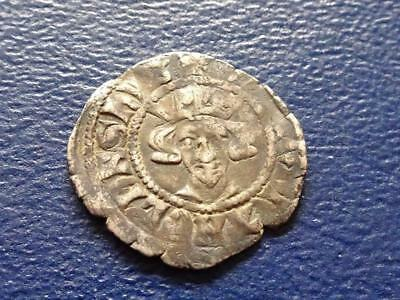 Ancient King Edward Hammered Silver Penny Nice Coin Medieval