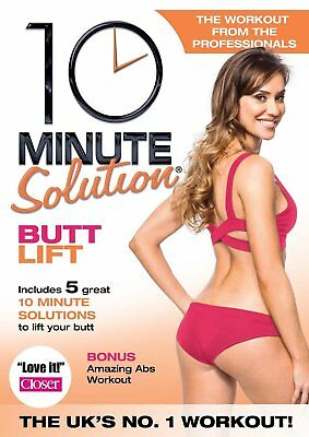 10 Minute Solution: Butt Lift [DVD] New Sealed Exercise and Fitness