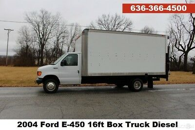Ford E-450 16ft Box Truck Moving Storage Delivery Cargo Diesel Used Trucks 350