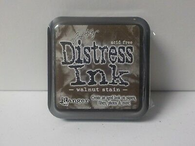 Ranger Tim Holtz Distress Ink Walnut Stain Ink Pad New A7173
