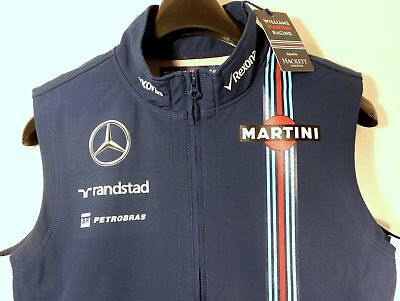 Williams Mercedes Martini Racing F1-Team – Softshell Weste (L) – Motorsport neu