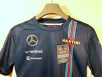 Williams Mercedes Martini Racing F1-Team – T-Shirt (M) – Motorsport Neuware