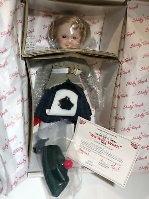 Danbury Mint Wee Willie Winkie Shirley Temple Dolls of the Silver Screen