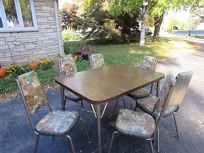 Retro Vintage Table and Chairs Douglas Furniture Corporation Kitchen Dining