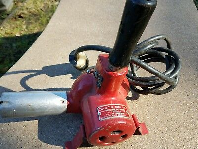 Dayton Electric Heat Gun Great Condition Model 2Z045 Hot and Cold Vintage USA