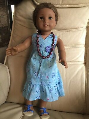 American Girl Doll Kanani 2011 Doll Of The Year In Original Outfit - Euc