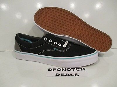45f378fcec Vans Era Pop Black Blue Curacao Men s Skate Shoes Size 12 NEW VN-0Y6XFJW