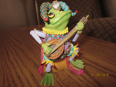 CAMELOT FROGS ~ Sculpture Collection ~ JUMPING JESTER 1996, No COA, No Box