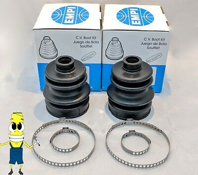 EMPI Front Outer CV Axle Boot Kit for Polaris Trail Boss 350L 1991-1992 with 4x4