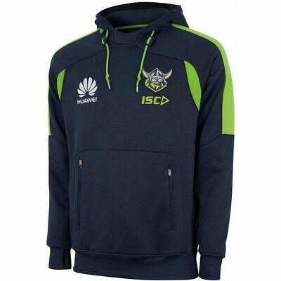 Canberra Raiders NRL 2018 Players ISC Squad Hoody Mens & Kids Sizes!