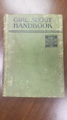 Girl Scout Handbook 1936 VERY EARLY EDITION See my other rare GS Items