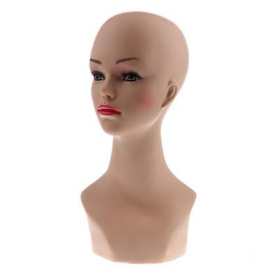 Fashion Female Mannequin Manikin Head Wigs Hats Scarf Jewelry Display Model
