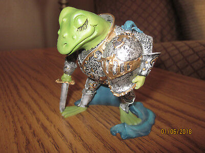 """Camelot Frogs """"Knight Of The Lily Pad"""", 1996, No COA, No Box"""