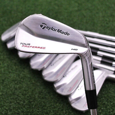 TaylorMade Tour Preferred TP MB Muscle Back 3-PW Dynamic Gold XP S300 Stiff -NEW