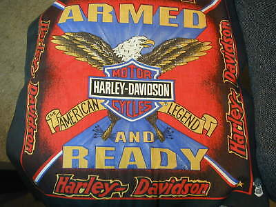 Harley Davidson Bandana Armed And Ready American Legend New old stock