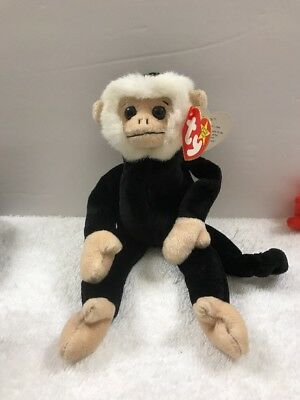 Ty Beanie Baby ~ MOOCH the Spider Monkey~ RETIRED with several tag Errors 8ac20a62ad5