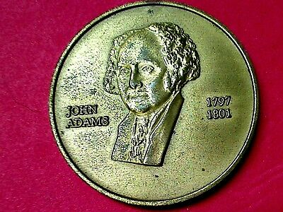 Usa Medals  , 1797 - 1801 John Adams The 2Nd  President Of Usa