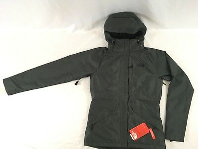 b84f976b8 THE NORTH FACE Women's Inlux Insulated Jacket Asphalt Grey M