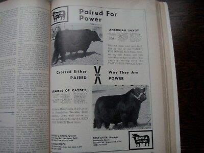 The Aberdeen-Angus Journal 50th Golden Anniversary 1969 edition VINTAGE FARM