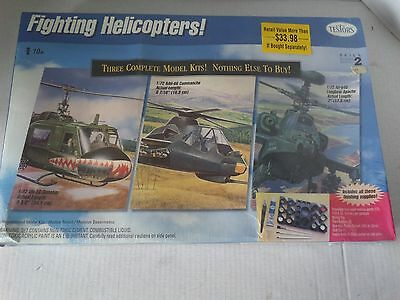 "Testor's ""fighting Helicopter's"" Sealed 1/72 Scale Year 1998"
