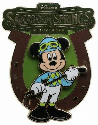 2007 Disney WDW Saratoga Springs Resort&Spa Mickey Mouse Pin Rare