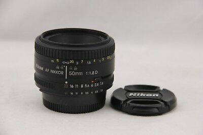 Nikon NIKKOR 50mm f/1.8 D AF Lens. Very Good Condition. Fast Shipping