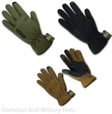 Breathable Water Resistant Fleece Gloves with Military Specs Sizes S to 2XL