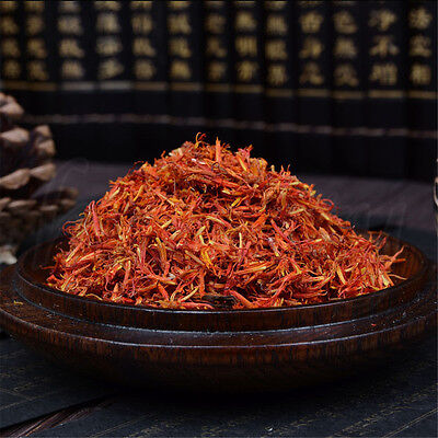 Tibet Dry Safflower Natural Pure Spice Kasubha Health Herbal 10~1000g