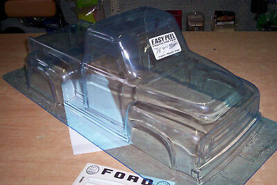 1:10 Lexan Body 53er FORD  Hotrod Pick up Truck Custom Karosserie (clear+decals)