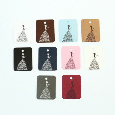 Price Tag Blessing Girls Package Lable Hanging Clothing Price Cards Gift 100Pcs