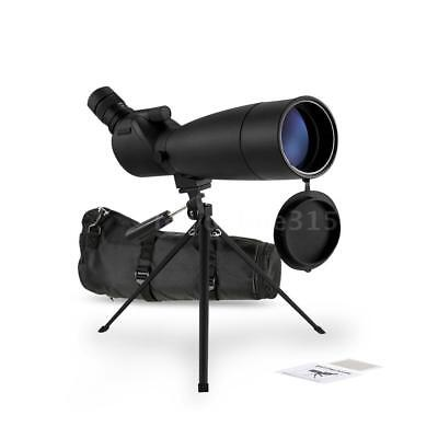Visionking 20-60x80 Angled Spotting Scope with Tripod for Bird Watching AU Q6N8