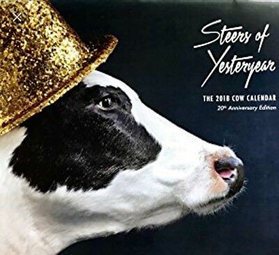 2018 Chick fil A Calendar/ WITH CARD!
