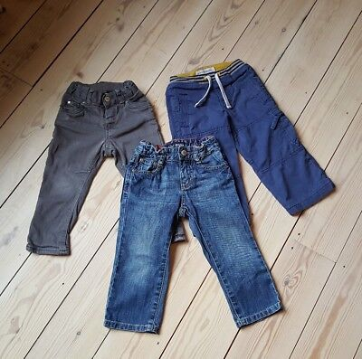 Boys bundle (Mini Boden x2, H&M x1) of trousers for 2year olds