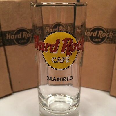 Hard Rock Cafe Shot Glas Madrid