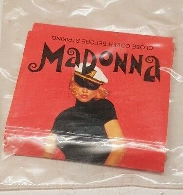 "MADONNA Streichhölzer / Matches *The Girlie Show"" NEW / NEU / MINT / RAR"