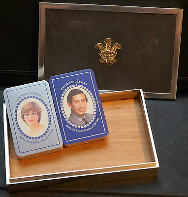 Royal 1981 Sterling Silver Box To Commemorate Lady Diana & Price Charles Wedding