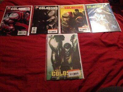X-MEN COLOSSUS BLOODLINE #1-#5 SET (Very Fine Grade) X-MEN