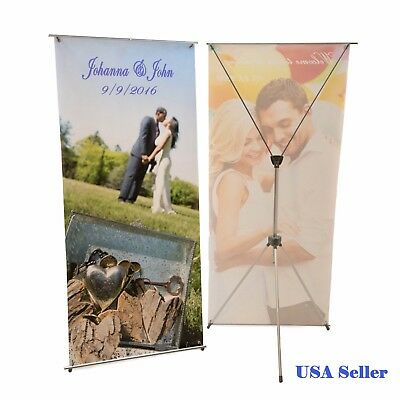 X-Banner Display Stand +Travel Bag 1PC