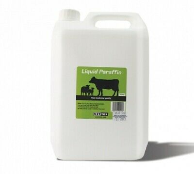 Nettex Liquid Paraffin 500ml 1lt Medicinal Laxative horse sheep dog pig pony