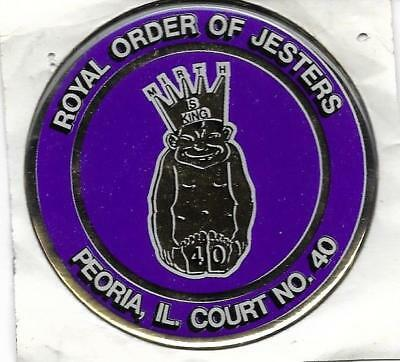Royal Order of Jesters Peoria IL Court 40 - Bumper Decal