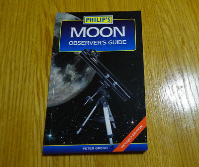 Philip's Moon Observer's Guide - Peter Grego - Revised Edition - NEW - Astronomy