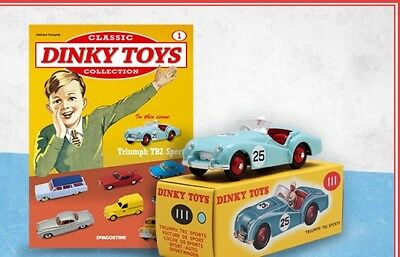 Deagostini Triumph Tr2 Sports Car Classic Dinky Toys Collection Issue 1 New