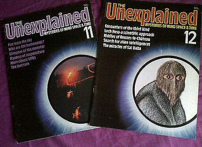The Unexplained - Mysteries of mind, space & time. Issues 11 & 12
