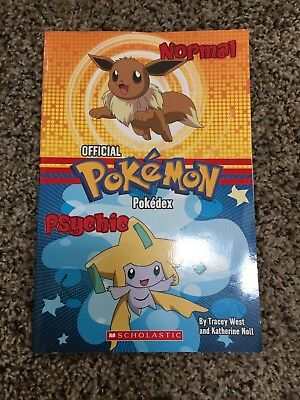 OFFICIAL POKEMON Normal Psychic POKEDEX Guide book by Tracey West/Katherine Noll