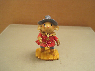 Wee Forest Folk Wonderful Wizard of Oz Series-Scarecrow - Signed and Numbered