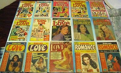 Sister's Sappy Romance Comics - Favorite Issues Gold Silver Bronze - 37 Issues