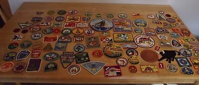 Mixed Lot of 115 Mostly Unused Vintage Boy Scouts of America BSA Patches 69-80's